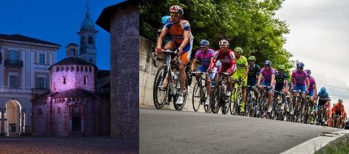 Il battistero illuminato di rosa a un mese dalla partenza di Giro d'Italia 2021