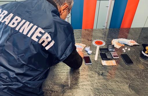 Spaccio di cocaina a Biella: doppio arresto dei Carabinieri FOTO