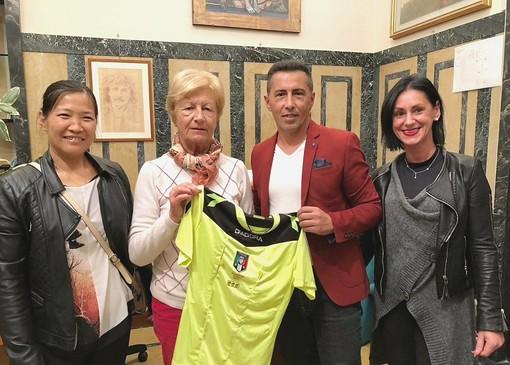 Regalo speciale dell'arbitro Pino Lopez al Fondo Edo Tempia, vince la solidarietà