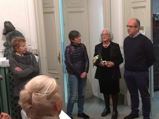 Opere di Carla Vallata erano state ospitate anche a Villa Schneider
