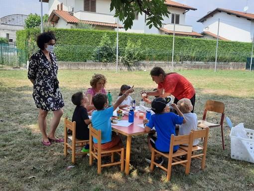 Si conclude in festa il centro estivo comunale per la scuola dell'infanzia di Vigliano