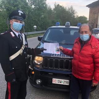 Prevenzione truffe, con i Carabinieri prosegue nel Biellese la distribuzione del volantino