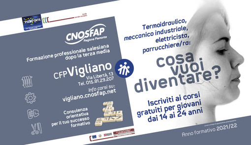 Porte aperte al CNOS-FAP di Vigliano per tutti gli studenti di terza media