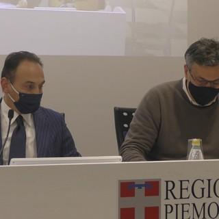 Una recente conferenza stampa dell'assessore regionale Luigi Icardi