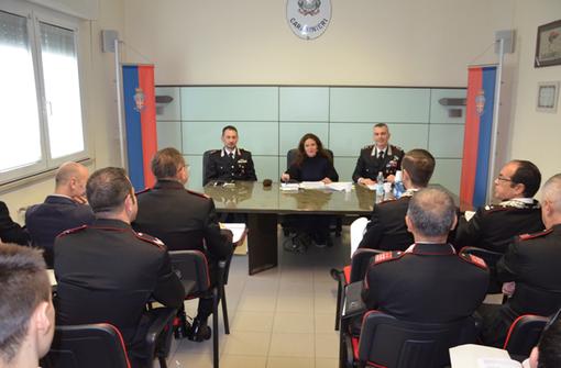 """""""Codice Rosso"""" al comando Carabinieri di via Rosselli"""