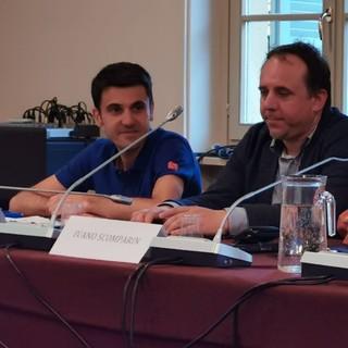 I consiglieri di Candelo Città Possibile Renzo Belossi e Fabrizio Ceria