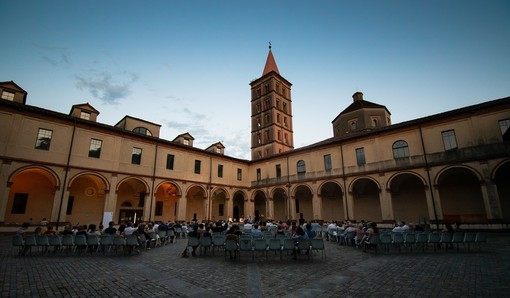 Piccola pausa per i concerti dell'Accademia Perosi al Chiostro di San Sebastiano