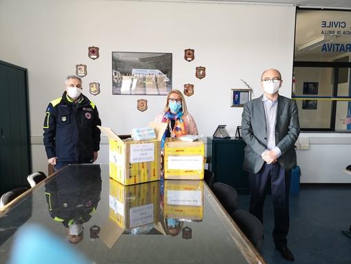 Dal Rotary Club Biella 2mila mascherine al Coordinamento territoriale di Protezione Civile destinate alle Forze dell'Ordine
