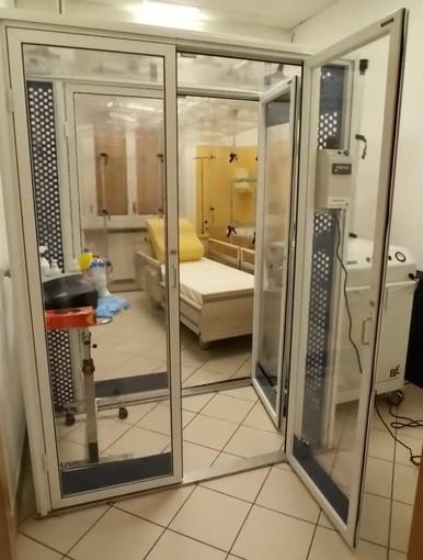 Installata al Cerino Zegna la camera di biocontenimento a pressione negativa FOTO