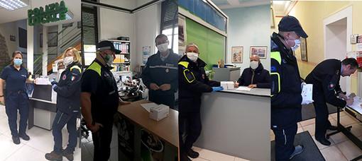 Dalla Regione 1500 mascherine per le Polizie Locali di 20 comuni biellesi FOTO