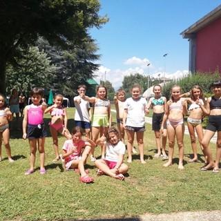 Centro estivo in piscina con il comune di Cerrione