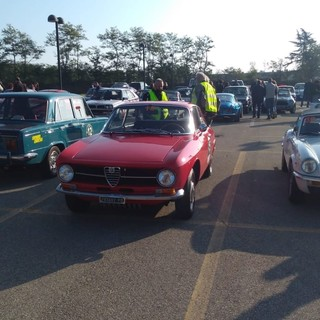 Le auto alla partenza, foto Marco Colla