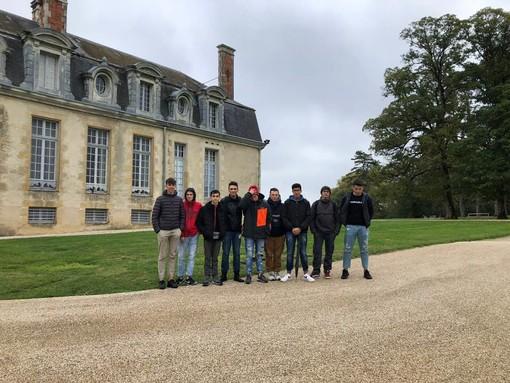 Stefano Ceffa e i suoi ragazzi del Cnos Fap in gita a Valcourt in Francia