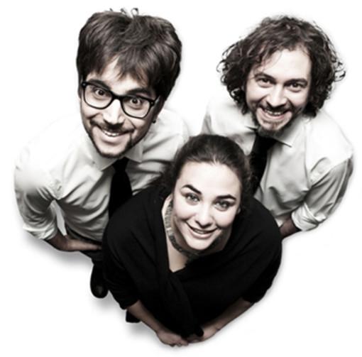 Paolo Canova, Diego Rizzuto e Sara Zaccone ideatori del progetto fate il nostro gioco