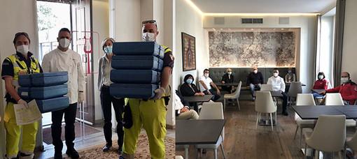 Emergenza coronavirus: A Biella consegna dei pasti agli anziani in difficoltà anche nel weekend
