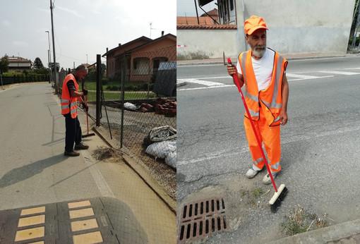 """Cerrione: Strade ripulite da due residenti """"tirocinanti"""", lavoreranno per sei mesi"""