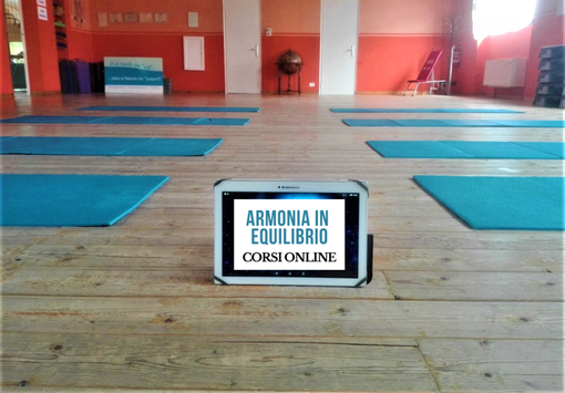Sport e benessere a 360 gradi, i corsi online della Palestra Piscina Armonia in Equilibrio VIDEO