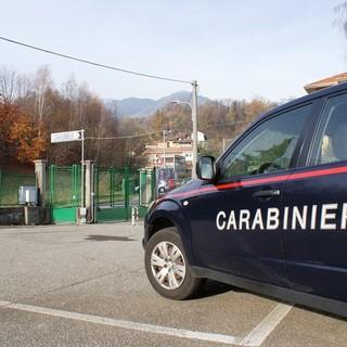 Carabinieri di Trivero in una foto di ottobre