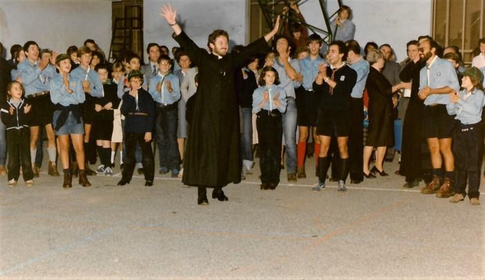 Don Remo il giorno della cerimonia di accoglienza