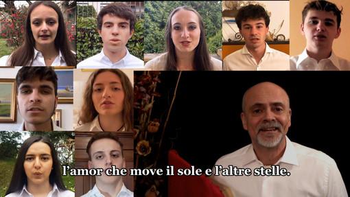 Dantedì, il XXXIII Canto del Paradiso nel video celebrativo della 5D del Liceo Avogadro