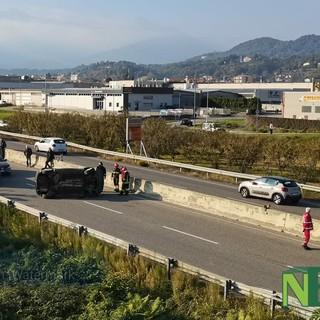 Doppio incidente a Vigliano in superstrada