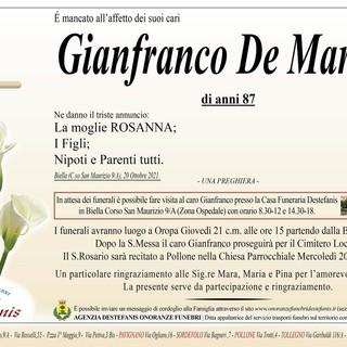 Gianfranco De Martini