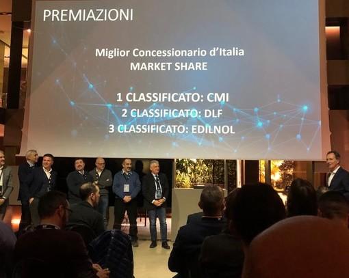 Vendite macchinari Caterpillar nel Biellese, terzo gradino del podio nazionale per Edilnol Spa