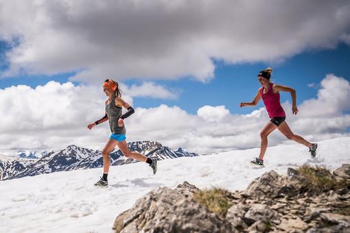 Top skyrunner Lina e Sanna El Kott Helander dalla Svezia puntano ad una nuova sfida in alta quota. ©iancorless.com