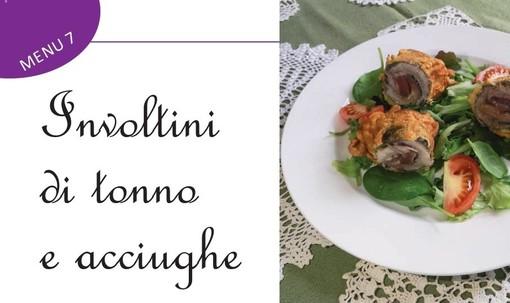 """A tavola con gusto grazie alle """"vecchie ricette"""" della nonna. Oggi Involtini di tonno e acciughe e..."""