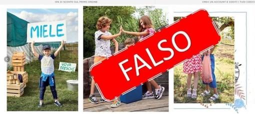 Truffe online: falso sito della Primigi