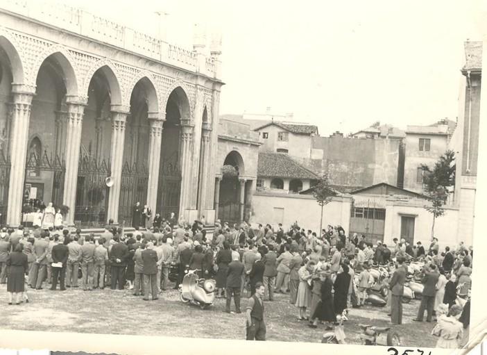 Foto storica Vespa Club