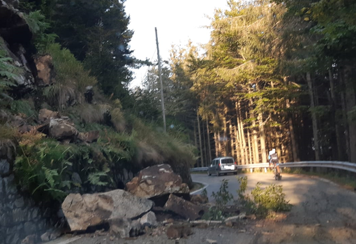 Frana a Trivero: riaperta la provinciale per Bielmonte