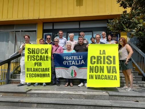 fratelli d'italia manifestazione