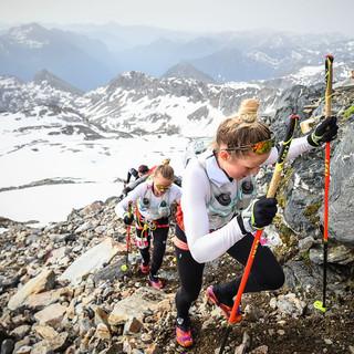 Le gemelle svedesi Lina e Sanna El Kott Helander sulla via della vittoria. ©Damiano Benedetto Photo