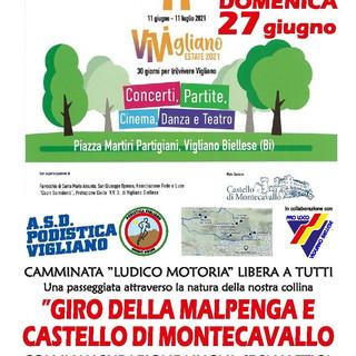 Vigliano: Giro della Malpenga e Castello di Montecavallo