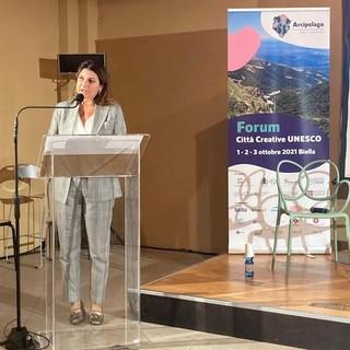 L'assessore all'Unesco Barbara Greggio