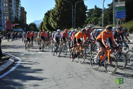 Il passaggio della Gran Piemonte in centro a Biella, foto studio Fighera