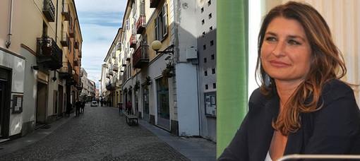 L'assessore al commercio della città di Biella, Barbara Greggio