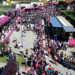 Il Giro d'Italia a Valdengo nel 2017