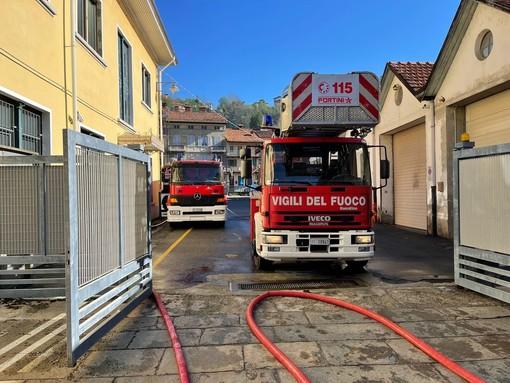 incendio pray azienda