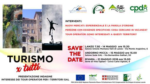 """Tre incontri per le prospettive future del """"Turismo per tutti"""""""