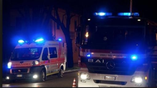 Incidente nella notte a Sandigliano: coinvolta un'auto della vigilanza