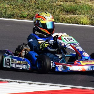 Kart: Leonardo De Grandi in pista a Viverone