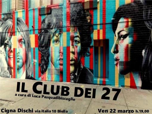 "Janis Joplin, Jim Morrison, Amy Winehouse: Solchi e Parole presenta ""Il Club dei 27"""