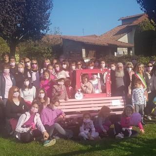 verrone panchina rosa