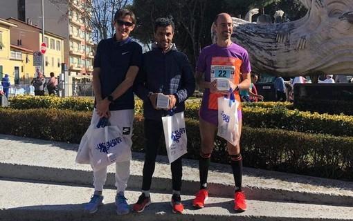 Grande podio per Matteo Lometti nella maratona di Massa Carrara