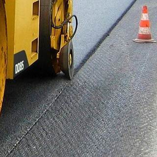 Importanti lavori di asfaltatura a Candelo