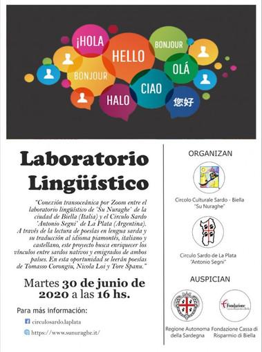 """Lingua materna di """"Casa Sardegna"""" tra Biella e La Plata (Argentina)"""