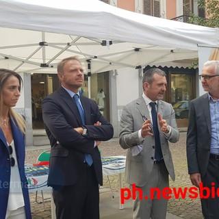 Onorevole Francesco Lollobrigida a Biella - Foto Fighera per newsbiella.it