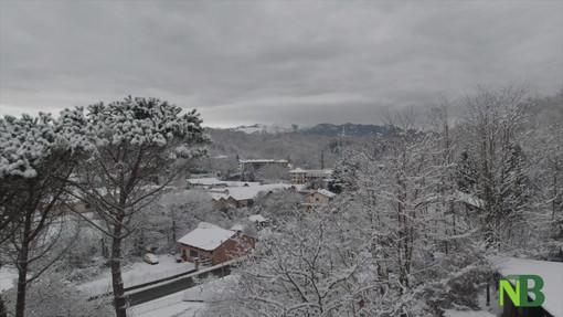 Lo spettacolo della neve a Lessona nelle immagini del videomaker biellese Mauro Messena VIDEO